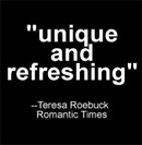 """Review Excerpt: """"unique and refreshing"""""""